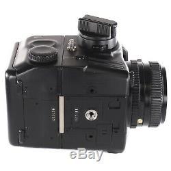 Mamiya 645 PRO TL with Sekor C 80mm 2.8 N 120 Film Back Waist Level Finder Crank