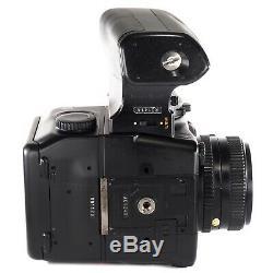 Mamiya 645 PRO TL with Sekor C 80mm f2.8 N + 120 Film Back + Waist Level Finder
