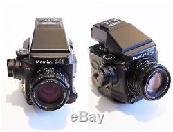 Mamiya 645 ProTL Medium Format Camera Kit / EXC CONDITION with 4 lenses & 3 backs