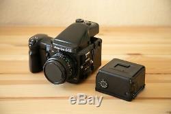 Mamiya 645 Pro + 80mm 2.8, AE Prism Finder + Motor Drive + extra film back