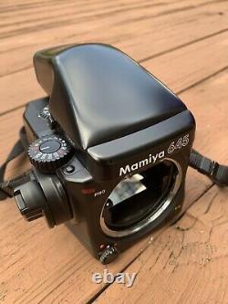 Mamiya 645 Pro Medium Format Film Camera With Prism Finder 120 Back Tested Working