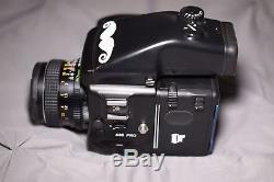 Mamiya 645 Pro Medium Format Film Camera with 80 mm and 55mm lens + 2 film back
