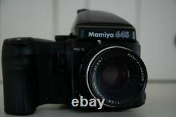 Mamiya 645 Pro TL Medium Format with additional film back and power winder
