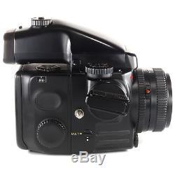 Mamiya 645 Pro with Sekor C 80mm f2.8 N +120 Film Back + AE Prism Finder + Crank