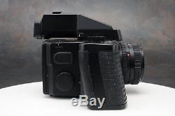 - Mamiya 645 Super 80mm f2.8 Lens AE Prism 120 Back Polaroid Back (av)