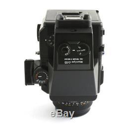 Mamiya 645 Super Medium Format SLR Film Camera 80mm f2.8 120mm film back