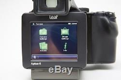 Mamiya 645df, Leaf Aptus II 7 Digital Back, 55-110mm and 150mm lenses Ex+++