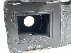 Mamiya AFD 645 6X4.5 medium format camera with 80mm 120/220 back