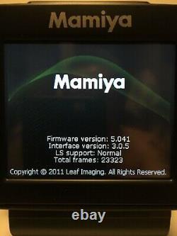Mamiya DM 33 (Leaf Aptus II 7) Digital Back Mamiya Mount