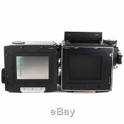 Mamiya M645 Super with Sekor C 80mm N 2.8 120 Film Back Waist Level Finder Crank