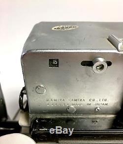 Mamiya Press Super 23 Medium Format with 3.5 100mm Sekor Lens 6x7 Back