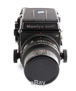 Mamiya RB67SD 90mm F3.5KL 68 motor film back kit