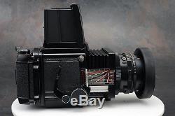 - Mamiya RB67 90mm Lens 2 x 120 Backs Waist Level Finder (av)