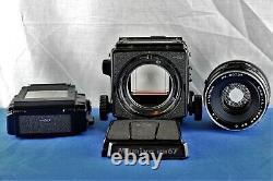 Mamiya RB67 Pro SD 150mm f4 SF C Lens Pro SD Film Back Waist Level Finder