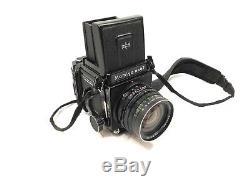 Mamiya RB67 Pro S Medium Format SLR Film Camera, Three Lenses, Polaroid Back