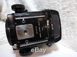 Mamiya RB67 Pro S Medium Format SLR Film Camera with prism viewfinder + back
