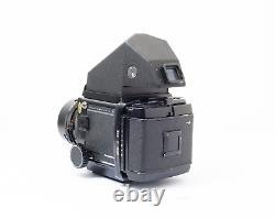 Mamiya RB67 Pro S Prism Finder with Sekor C 90mm f/3.8 lens + Back + Polaroid back