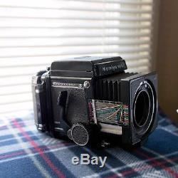 Mamiya RB67 Pro-S With 90mm f/3.8 Sekor C lens and 2 120 Backs + more