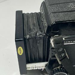 Mamiya RB67 Pro S with SEKOR 127 f/3.8 120 Film Back from JAPAN WithHood