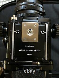 Mamiya RB67 Pro v1 with 127mm f3.8 C lens & Pro s back