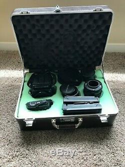 Mamiya RB67 Pro w\ 90mm, 140mm, 180mm Lens, film\Polaroid back, macro ext, Case
