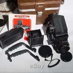 Mamiya RB67 Professional Medium Format SLR Film Camera combo/polaroid back/READ