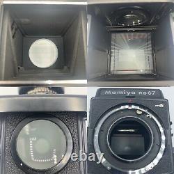 Mamiya RB67 Professional S Sekor C 13.8 90mm Film Back 120 film camera