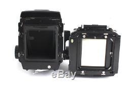 Mamiya RB67 SD 127mm F3.5 KL 120mm FILM BACK SET