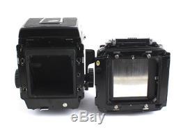 Mamiya RB67 SD 180mm F4.5 KL 120mm FILM BACK KIT
