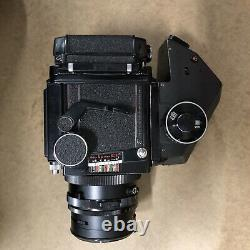 Mamiya RB 67 PRO-S 90mm F 3.8 Lens 120 film back Polaroid Back