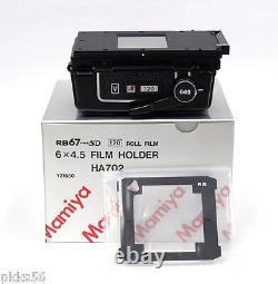 Mamiya RB PRO-SD 120 6x4.5 FILM HOLDER / FILM BACK