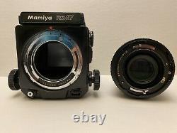 Mamiya RZ67 + 120 Film Back + Waist Level Viewfinder + 127mm Lens