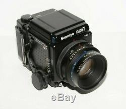 Mamiya RZ67 Pr II Medium Format SLR Film Camera kit withlenses, backs Mint