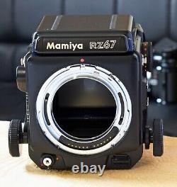 Mamiya RZ67 Pro 120/220 Back WLF EXE+++, Exceptional