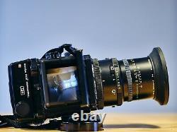 Mamiya RZ67 Pro 6x7 Camera + 65mm F4 L-A Lens Floating Element + 120 Film Back