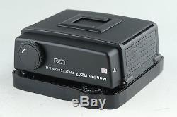 Mamiya RZ67 Pro IID Medium Format SLR Film Camera + 120 Back With Box #12641