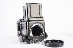 Mamiya RZ67 Pro II 6x7 Camera Body with WLF & 120 Back SERVICED Near Mint V15