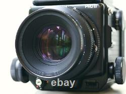Mamiya RZ67 Pro II Camera 110mm 180mm Lens 120 Film Back 6 mths Warranty
