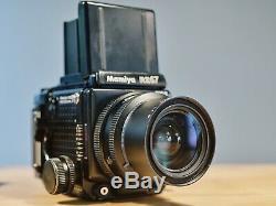 Mamiya RZ67 Pro II Camera + 65mm Sekor Lens + 120 Film Back + Polaroid Back