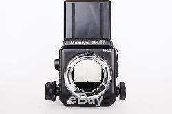 Mamiya RZ67 Pro II KIT- 2 RZ, 90mm-100mm-3 backs-winder-L-Grip-Polaroid-Prism