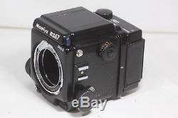 Mamiya RZ67 Pro II Medium Format SLR Film Camera Winder II 120 & Polaroid Back