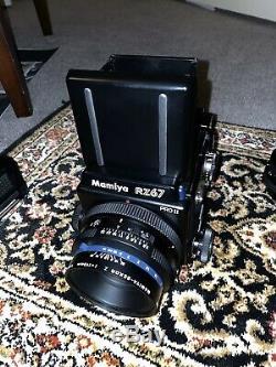 Mamiya RZ67 Pro II Medium Format SLR with Three Lenses, Several Backs + More