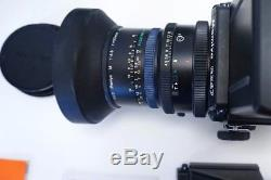 Mamiya RZ67 Pro II kit near mint with50mm, 140mm, 210mm lens, prisms, 3backs, xtras