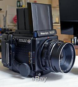 Mamiya RZ67 Pro WLF Pro 220 Back Sekor C 127mm f3.8 MINT