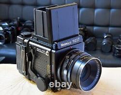 Mamiya RZ67 Pro WLF Pro II 120/220 Back Sekor C 127mm f3.8 Mint- Pristine
