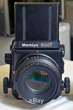 Mamiya RZ67 Pro WLF Pro II 220 Back Sekor KL 127mm f3.5 lens MINT