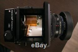 Mamiya RZ67 Professional Pro II 2 with 110mm f2.8 W lens and 120 Back