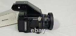 Mamiya RZ67 Professional with Z 110mm F/2.8, PD Prism Finder+120 Film Back
