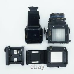 Mamiya RZ67 Professional with Z 110mm F/2.8, PD Prism Finder and 120 Film Back