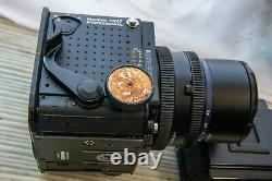 Mamiya RZ67 pro with 90mm 3.5 Sekor Z lens, Prism Finder and 120 Film Back